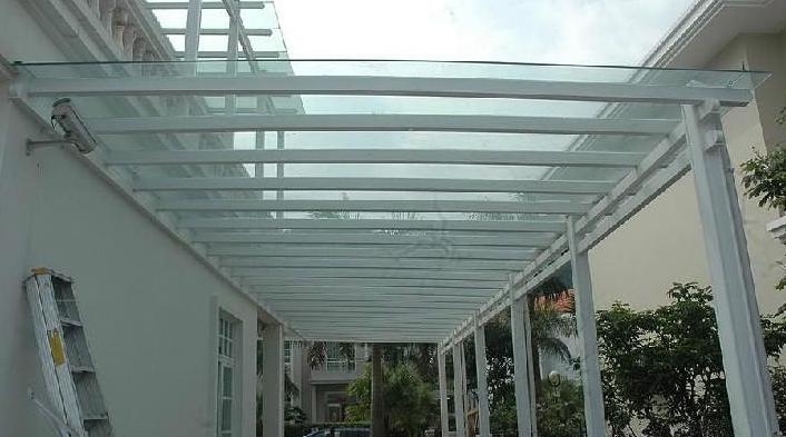 钢结构雨棚展示